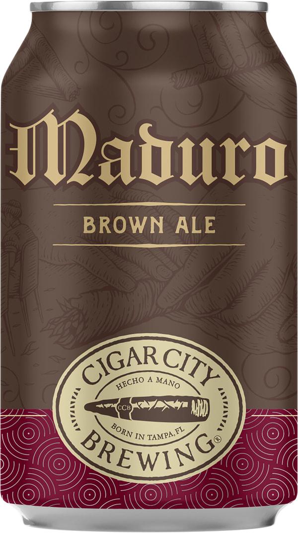 Cigar City Maduro Brown Ale can