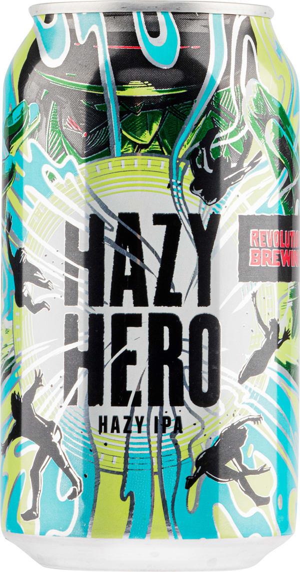 Revolution Hazy Hero Hazy IPA burk
