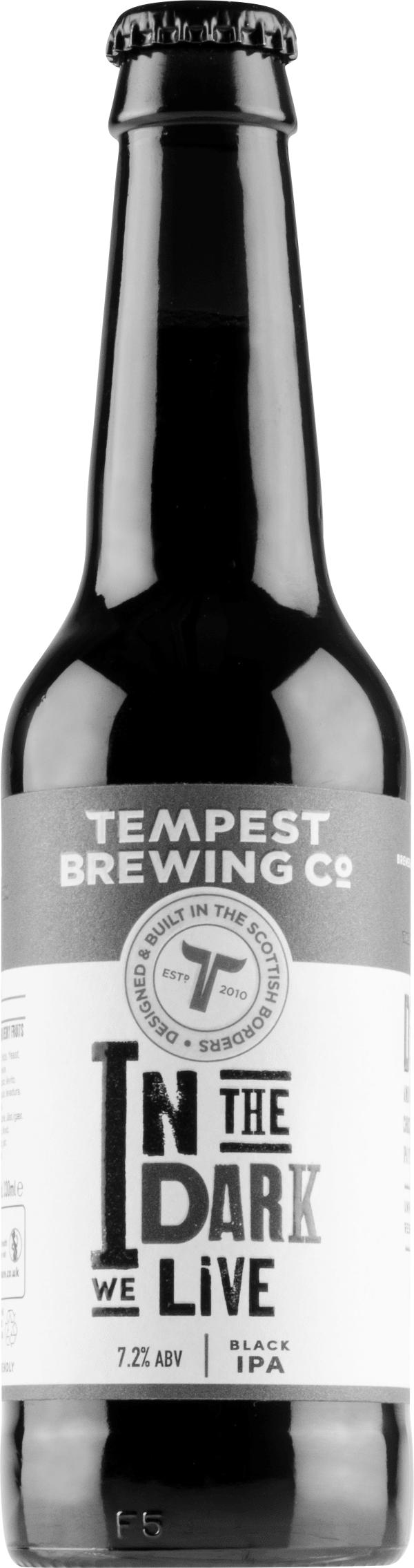 Tempest In The Dark We Live Black IPA