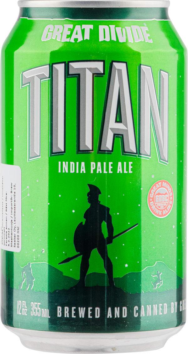 Great Divide Titan IPA burk