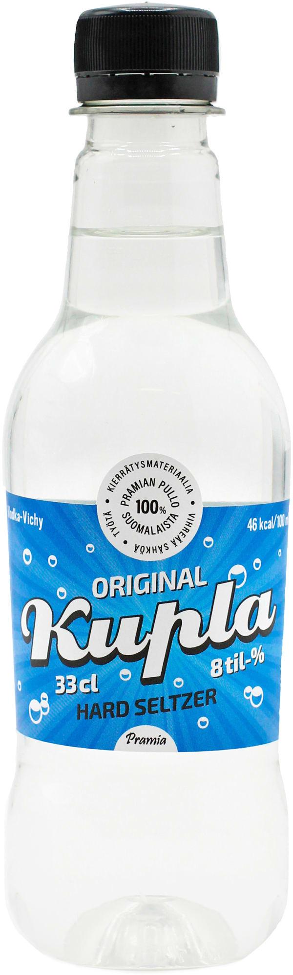 Pramia Kupla Maustamaton Lonkero plastic bottle