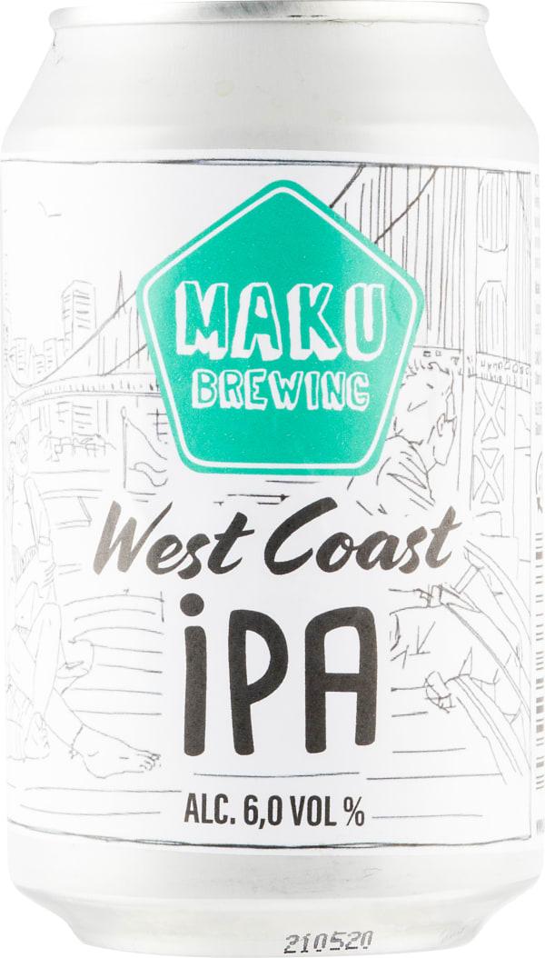 Maku Brewing West Coast IPA burk