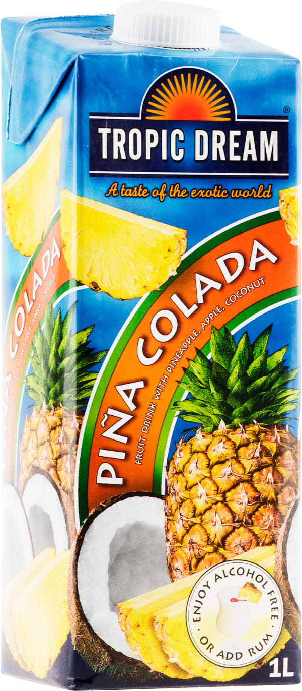 Tropic Dream Piña Colada carton package