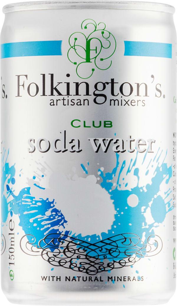 Folkington's Club Soda Water burk