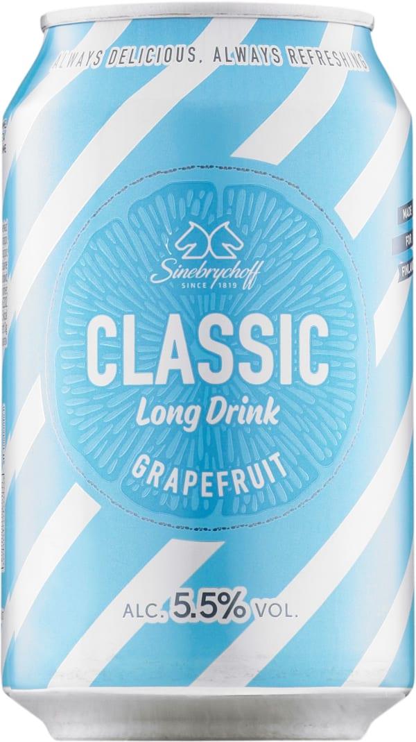 Sinebrychoff Long Drink Grapefruit burk