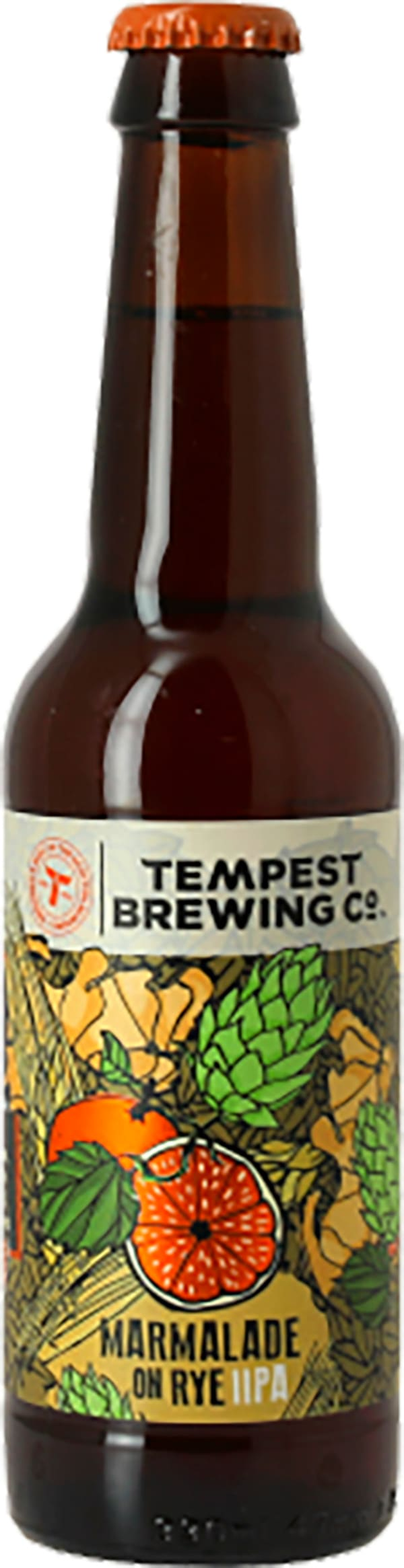 Tempest Marmalade On Rye Double IPA