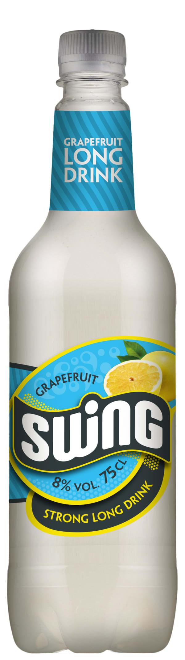 Swing Grapefruit Strong Long Drink plastic bottle