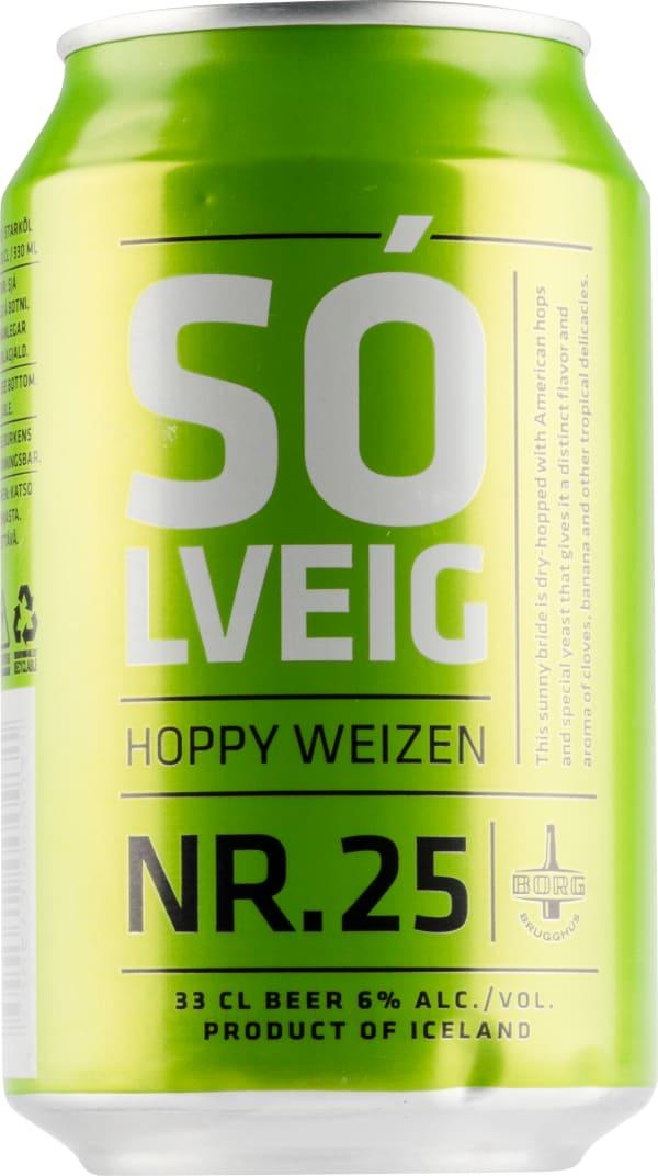 Borg Solveig Nr. 25 Hoppy Weizen burk