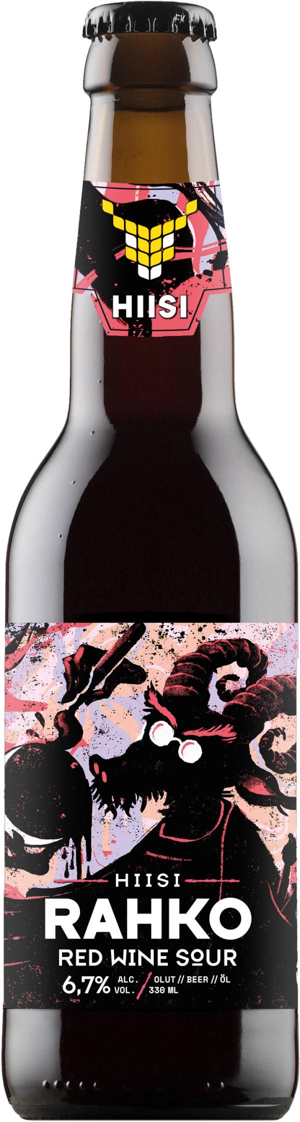 Hiisi Rahko Red Wine Sour