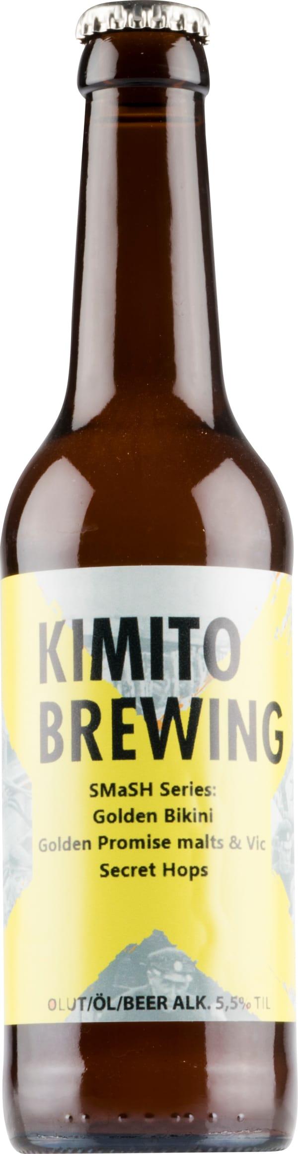 Kimito Smash Series Golden Bikini