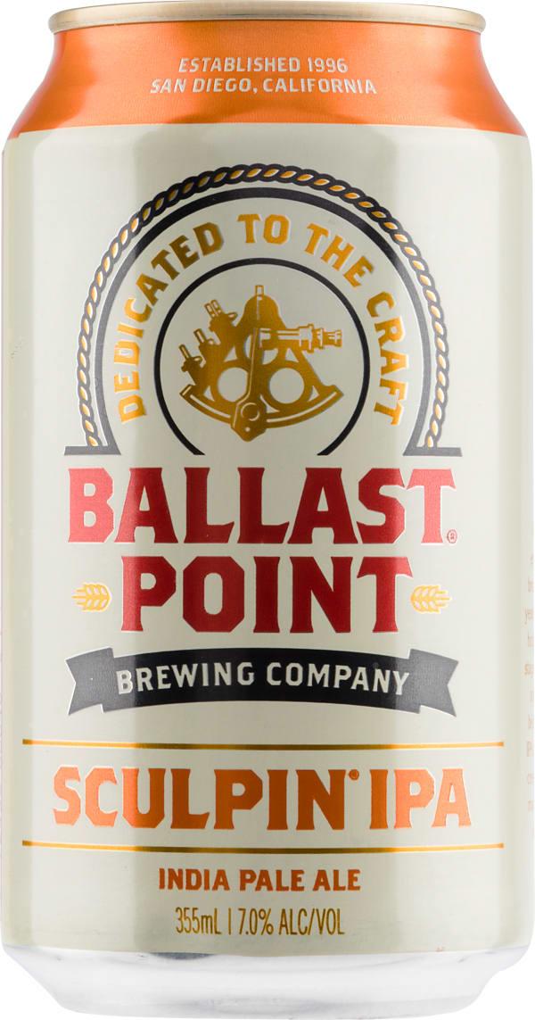 Ballast Point Sculpin IPA burk