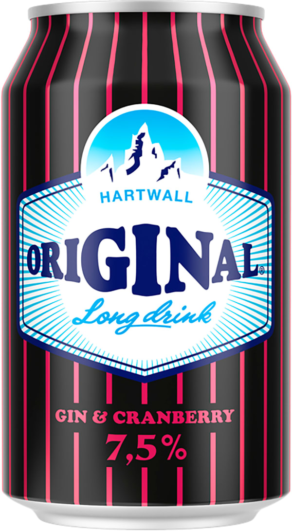 Original Long Drink Strong Cranberry burk