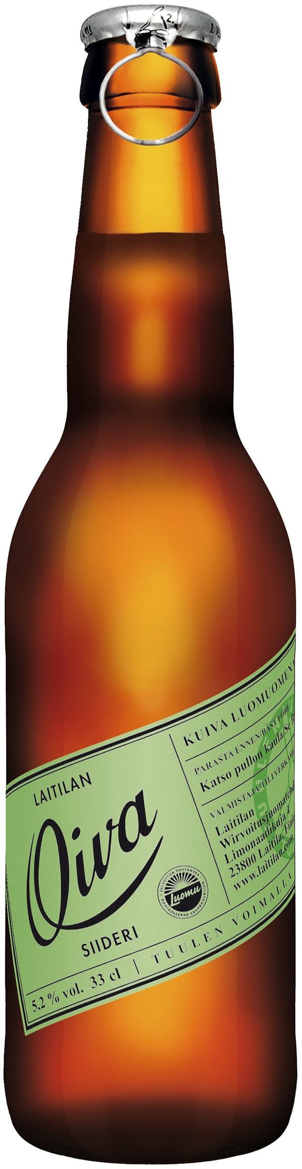Laitilan Oiva Nordic Cider Organic Apple Dry