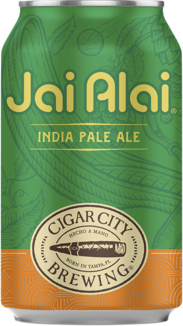 Cigar City Jai Alai IPA burk