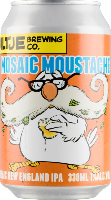 Uiltje Mosaic Moustache burk