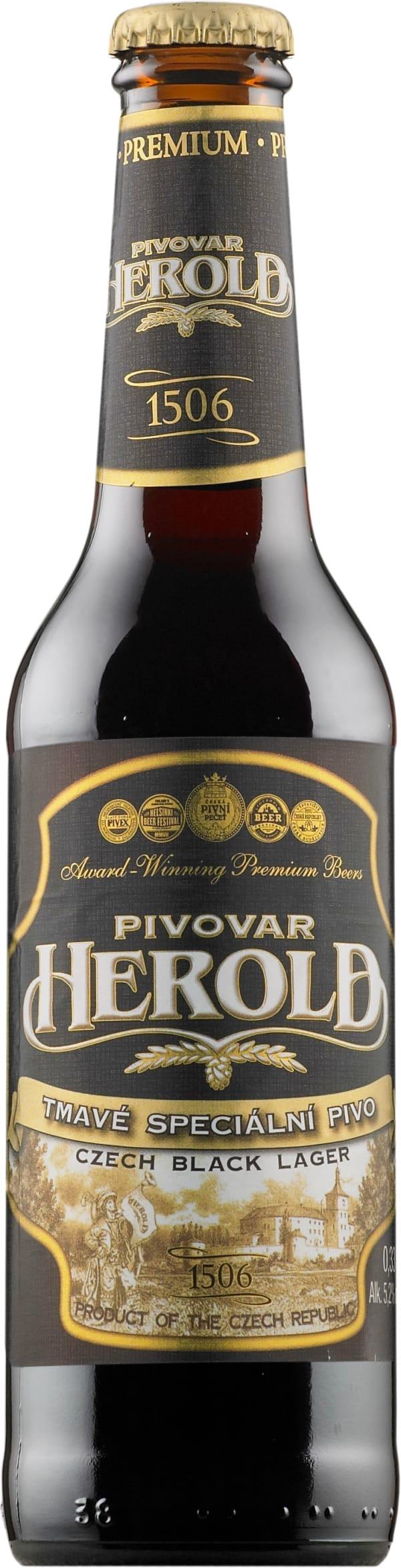 Herold Czech Black Lager