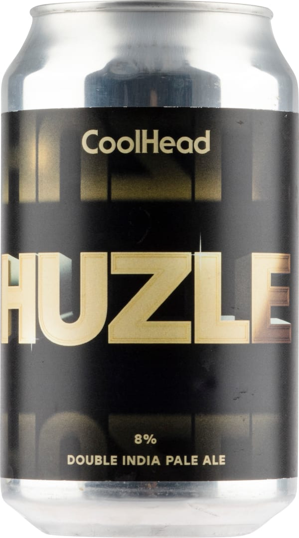 Coolhead Huzle Double IPA can