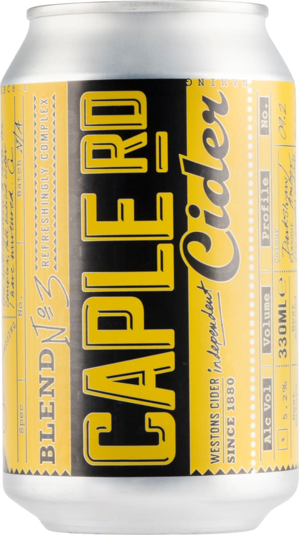 Westons Caple Rd Cider can