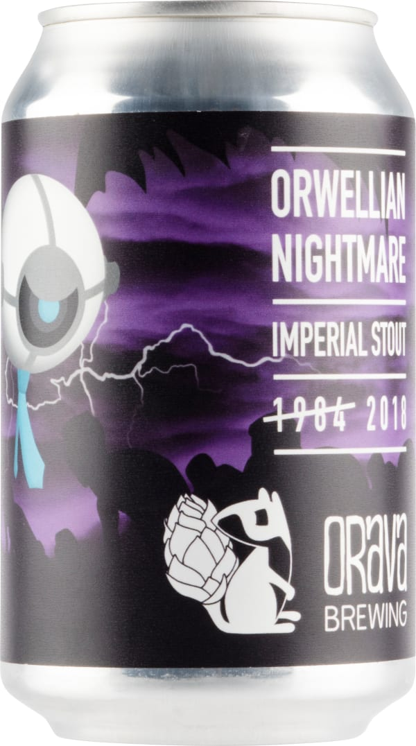 Orava Brewing Orwellian Nightmare Imperial Stout tölkki