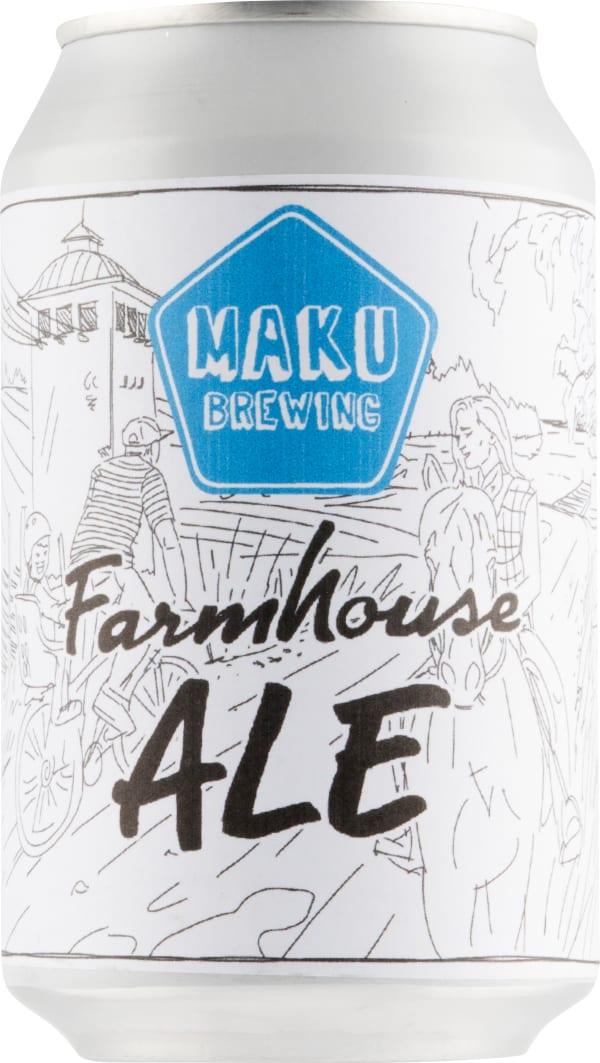 Maku Farmhouse Ale can