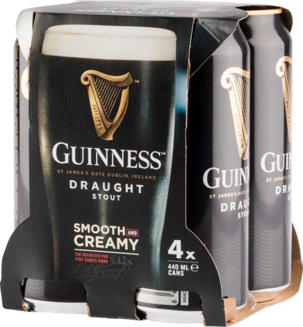 Guinness Draught 4-Pack tölkki