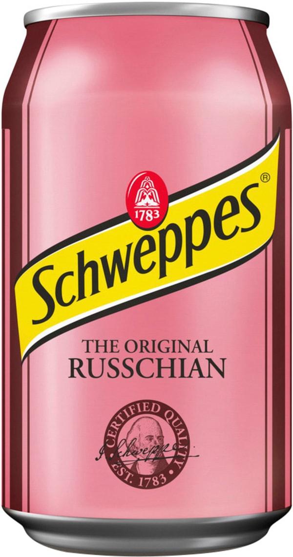 Schweppes Russchian can