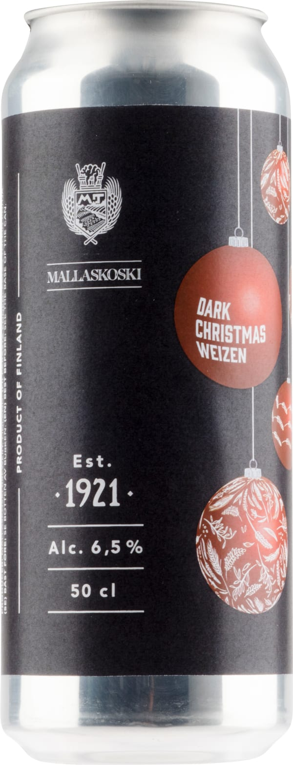 Mallaskoski Dark Christmas Weizen burk