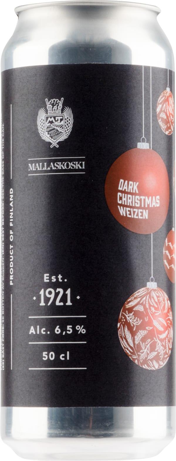Mallaskoski Dark Christmas Weizen can
