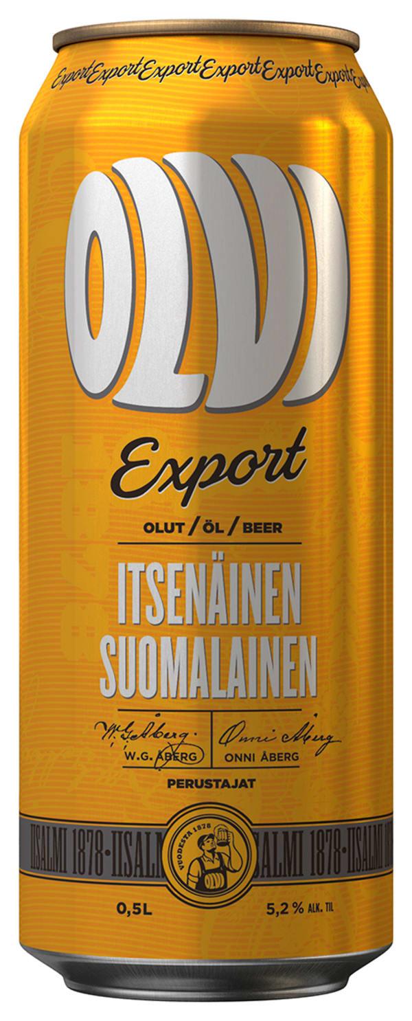 Olvi Export A can