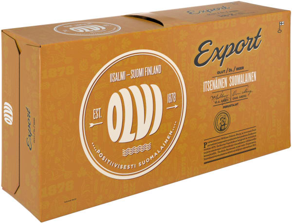Olvi Export A 18-pack tölkki