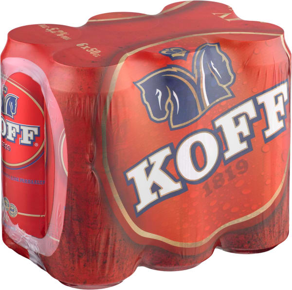 Koff A 6-pack can