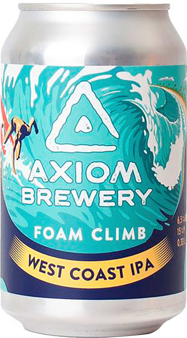 Axiom Foam Climb West Coast IPA can
