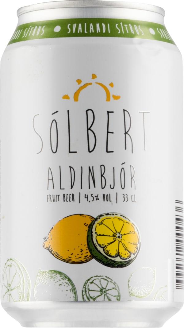 Sólbert Aldinbjór can