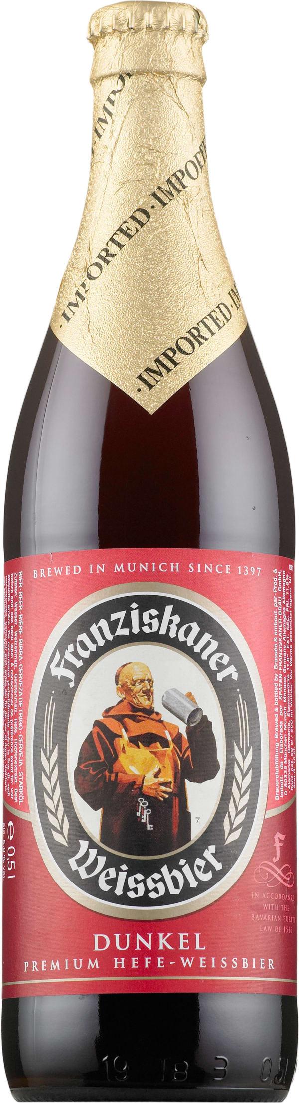 Franziskaner Weissbier Dunkel