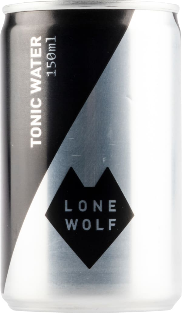 LoneWolf Tonic Water can