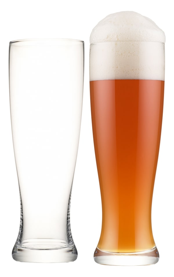 Etiketti wheat beer glasses, 2 pc