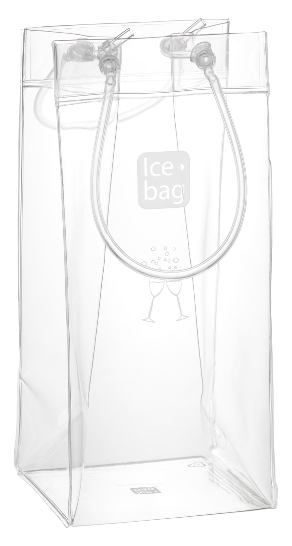Ice Bag-kylare, transparent