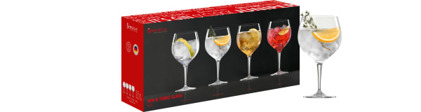 Gin&Tonic glas, Spiegelau, 4 st.
