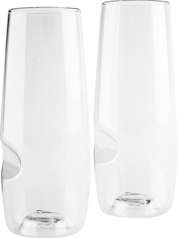 Govino glas för mousserande vin, 2 st.