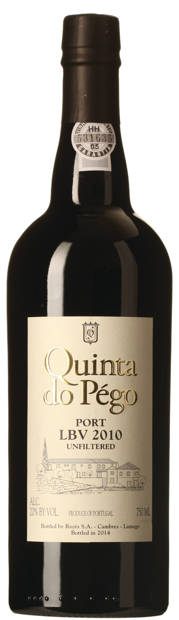 Quinta do Pégo Late Bottled Vintage Port 2014