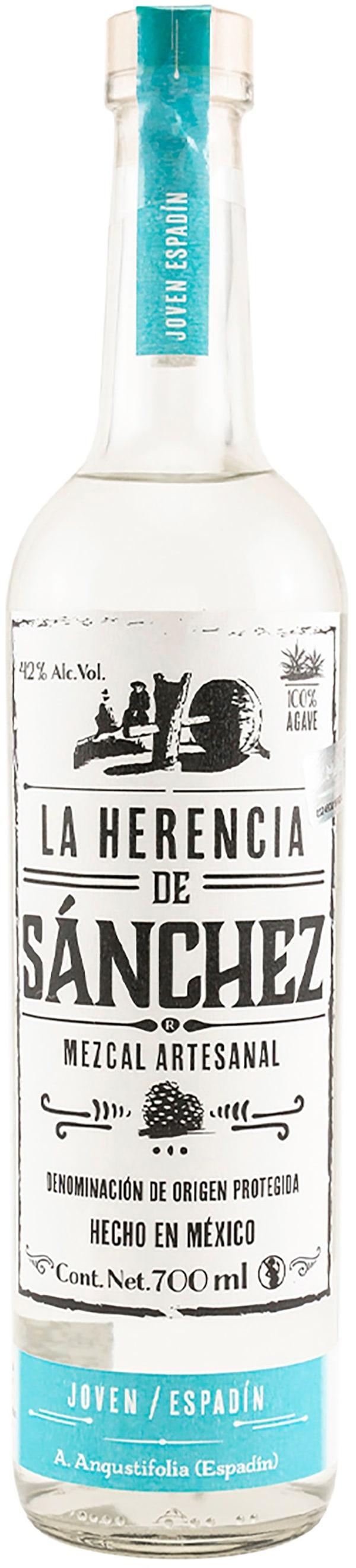 La Herencia De Sanchez Espadin Mezcal