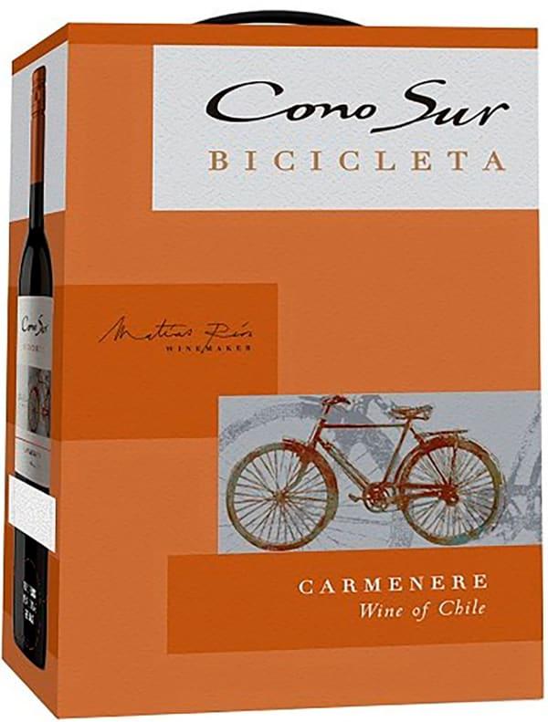 Cono Sur Bicicleta Carmenère 2017 lådvin