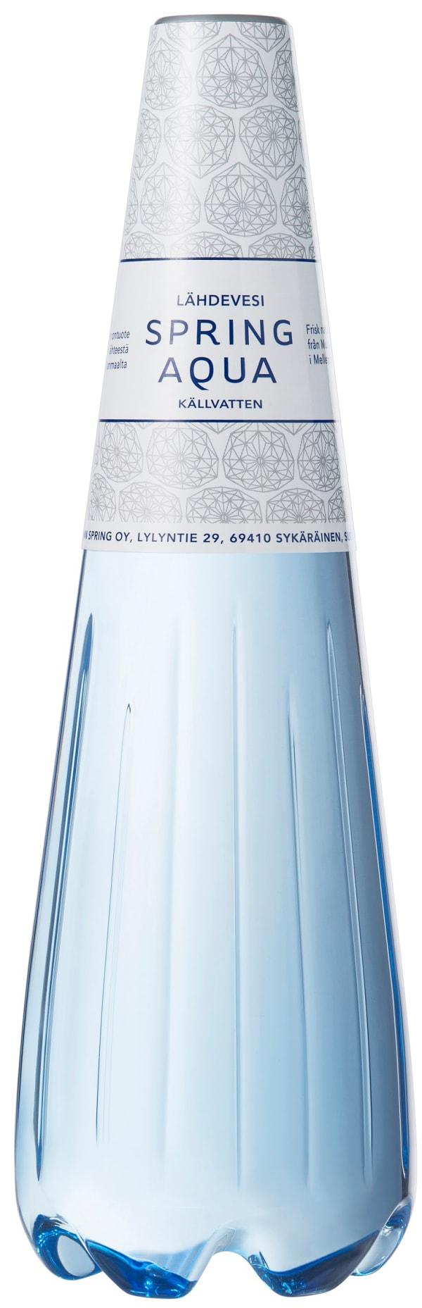 Spring Aqua Lähdevesi plastic bottle