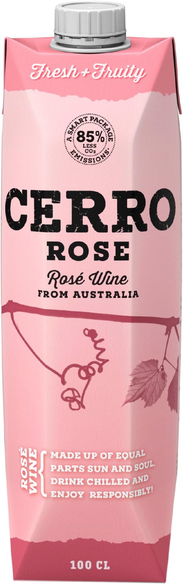 Cerro Rosé carton package