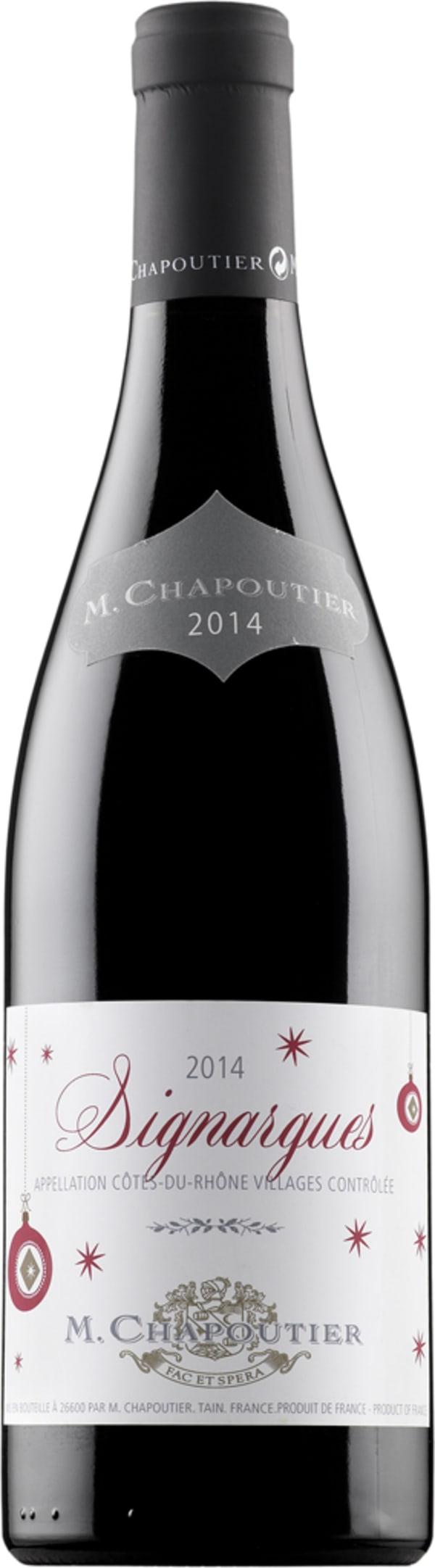 M. Chapoutier Signargues 2014