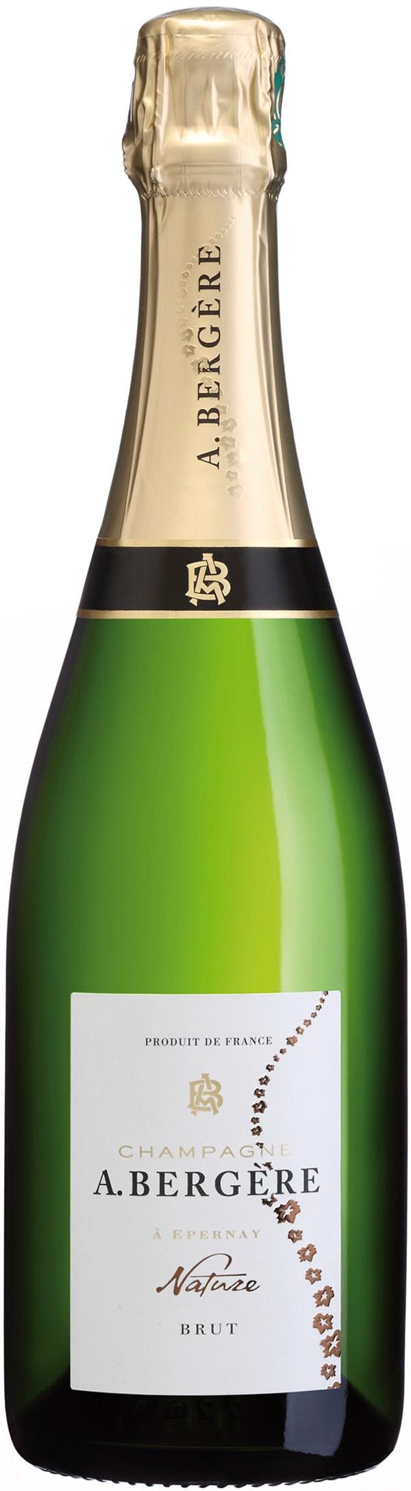 A. Bergere Champagne Brut Nature