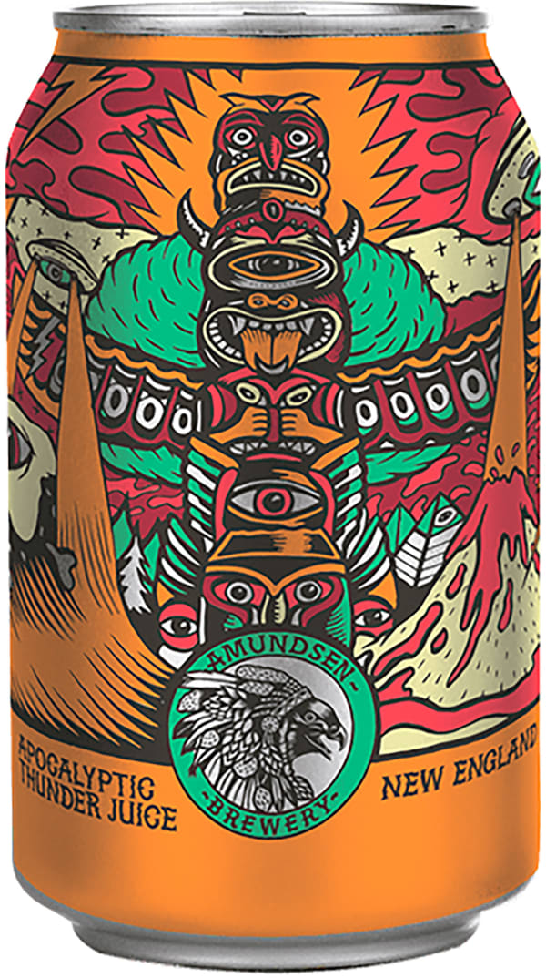 Amundsen Apocalyptic Thunder Juice New England IPA can