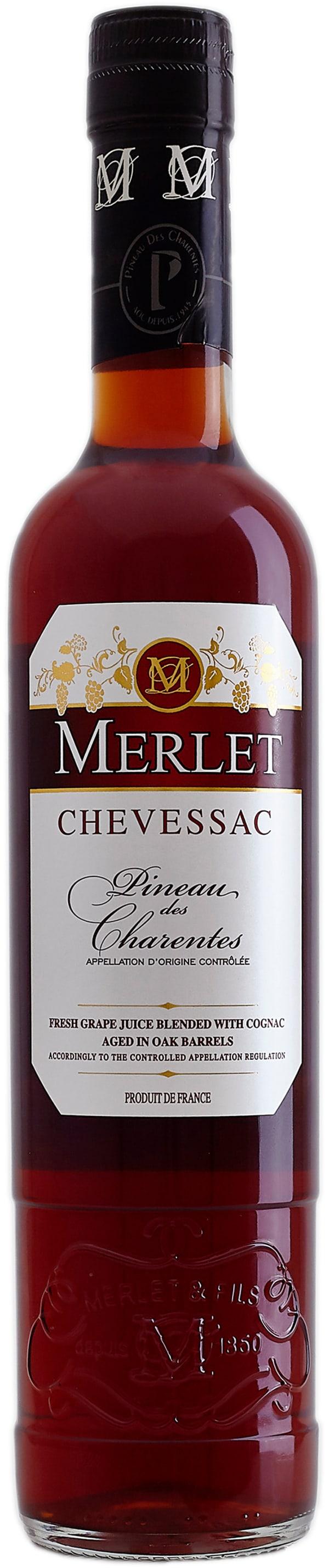 Merlet Chevessac Rosé Pineau des Charentes