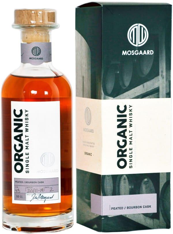 Mosgaard Organic Single Malt Whisky-Peated Bourbon Cask