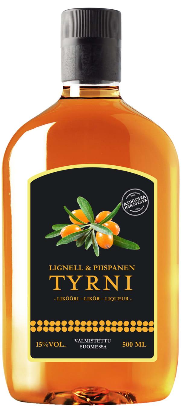 Lignell & Piispanen Tyrnilikööri plastic bottle